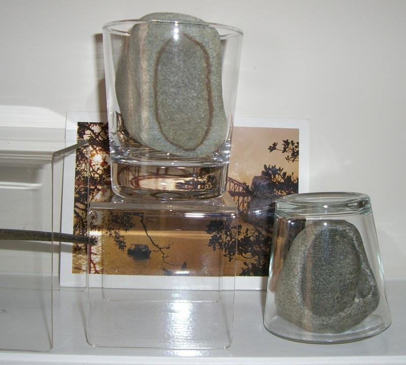 kara rocks in glass