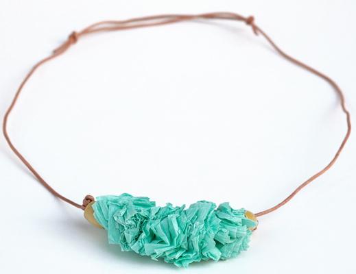 Covet: Manu Crepe Paper Necklace