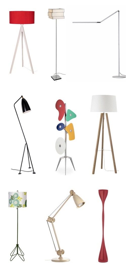 modern floor lamps BEST STANDING LAMPS BEST STANDING LAMPS floor lamps 5