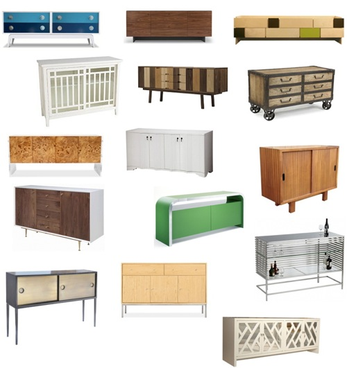 Get The Look 53 Credenzas And Sideboards Buffets