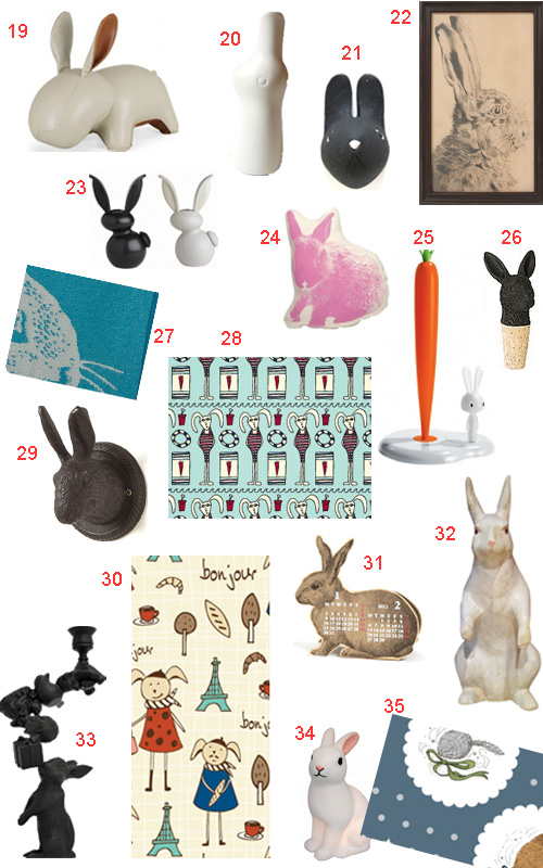 Get The Look 44 Bunny Rabbit Accessories And Decor