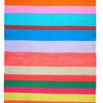 Covet: Multicolor Handwoven Striped Runner