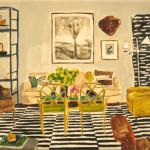 ARTmonday: Kate Lewis' Interior Paintings