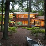 Design Diary: Sleek Cabin on Squam Lake by Tom Murdough