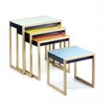 Covet: Josef Albers Nesting Tables