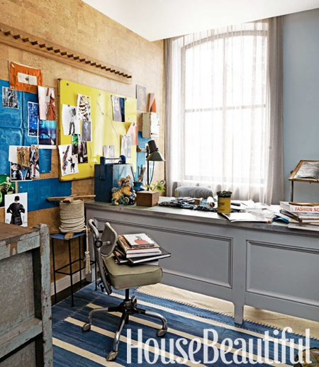Home Office Design Gallery: Design Diary: Hearst's Designer Visions Showhouse