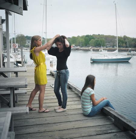 Ranee Palone Flynn Girl on Dock