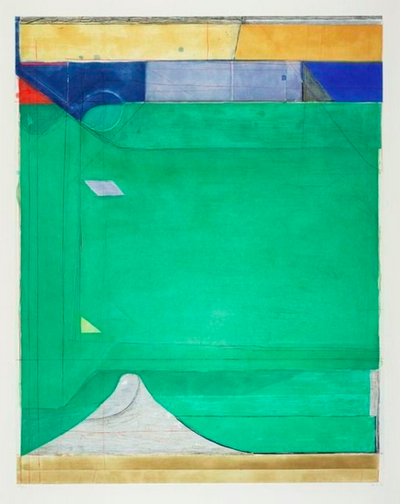 Richard-Diebenkorn-Green-1986