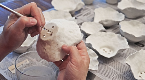 Snowbound Pottery Anna Kasabian In Progress
