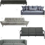 Get the Look: 22 Modern Gray Sofas