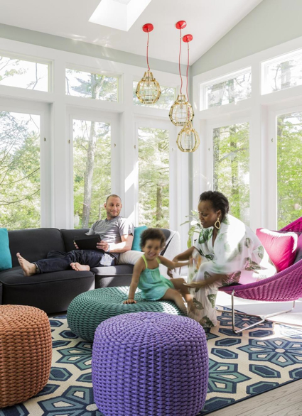 Sunroom Designed By Color Theory