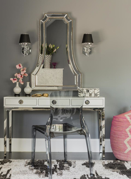 Boudoir Designed By Color Theory