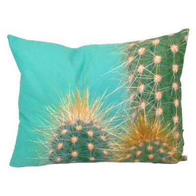 Throw Pillow With Digital Print of Cactus