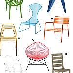 Get the Look: 18  Modern Patio Chairs