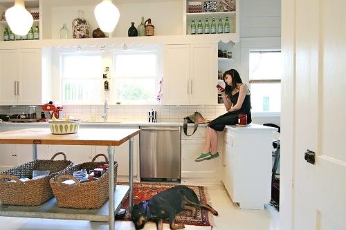 Anna Beth Chao kitchen-kilim-designmom