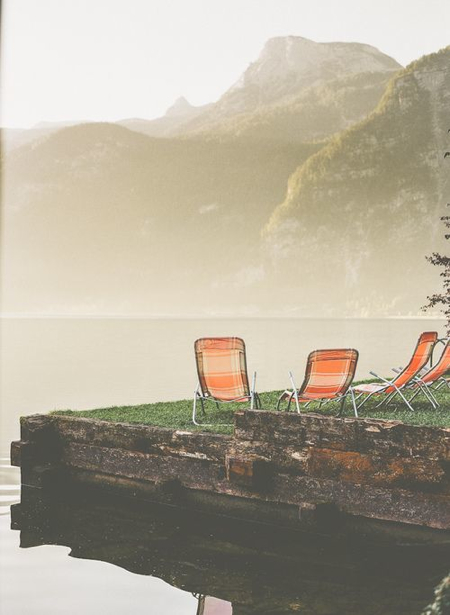 grassy-dock-orange-chairs