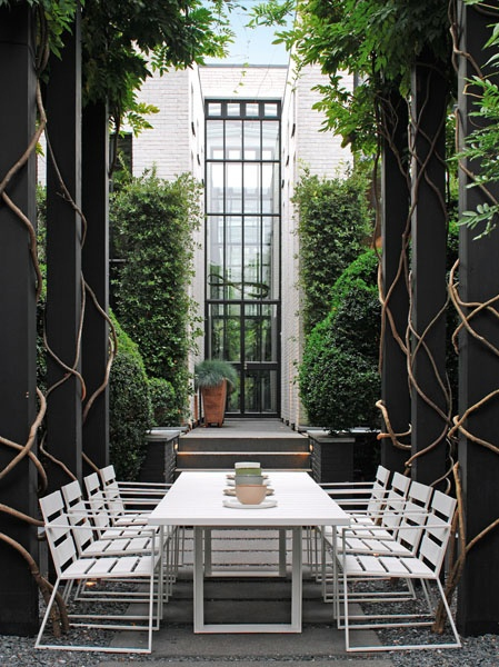 white-dining-furniture-tall-window