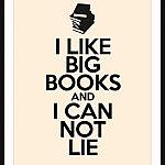 Saturday Say It: I Like Big Books