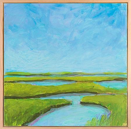 Ellen Levine Dodd Landscape Oil Painting