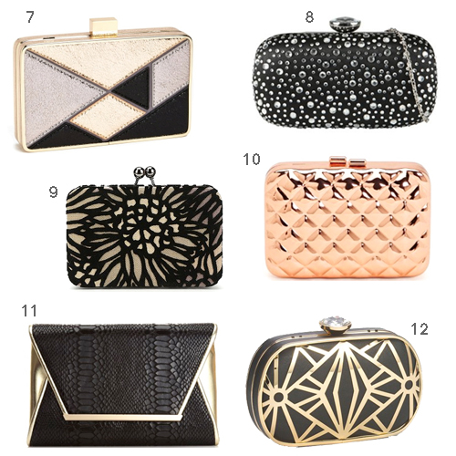 New Year's Eve Clutches Under $50