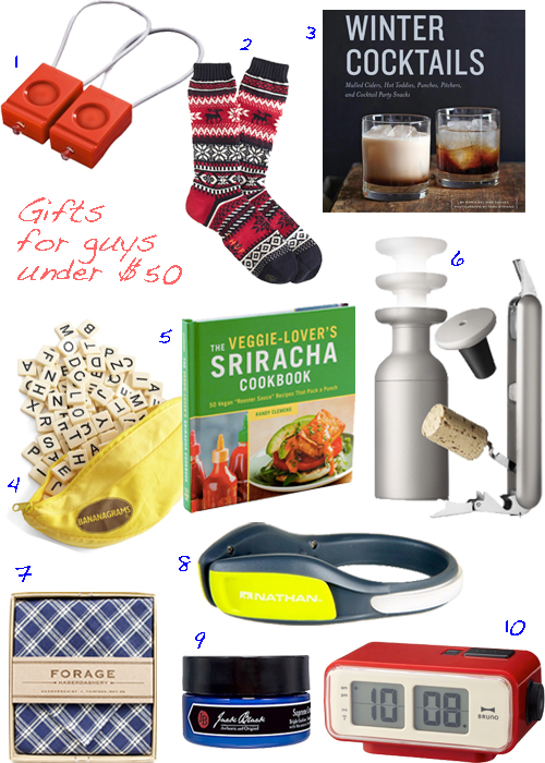 Affordable Holiday Gifts For Men Under $50
