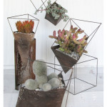 Crafty: Industrial Style Geo Planters