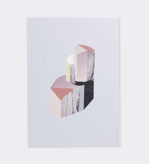 Painting of Quartz On Birch Plywood Artwork
