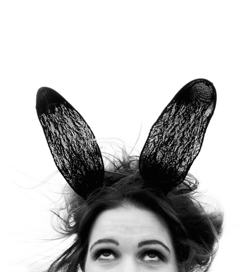 Boston Artist Trigger Photographer Bunny Ears Portrait