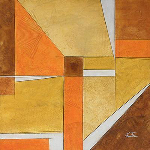 Brazilian Abstract Painting From Novica