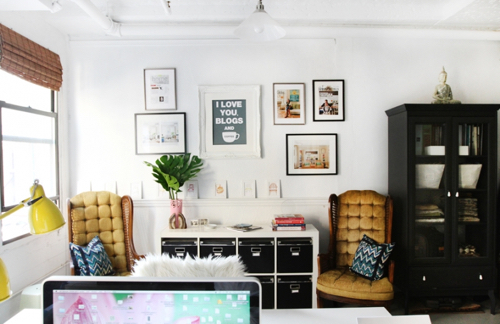 Erin Gates Office Space With Jill Rosenwald
