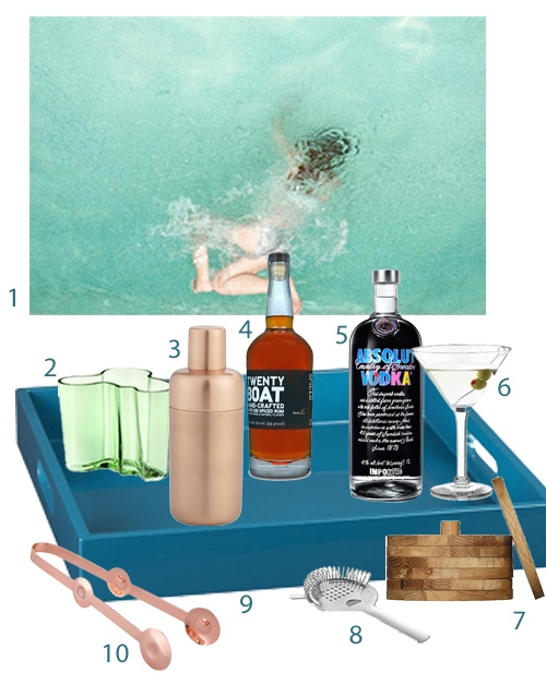 How To Style A Bar Tray For Your Home