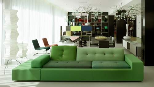citizen-m-amsterdam-green-sofa