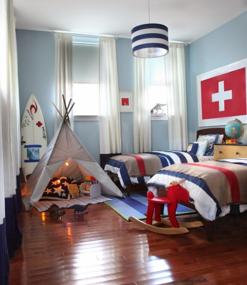 Boys' Bedroom Makeover by Robin M. Anderson