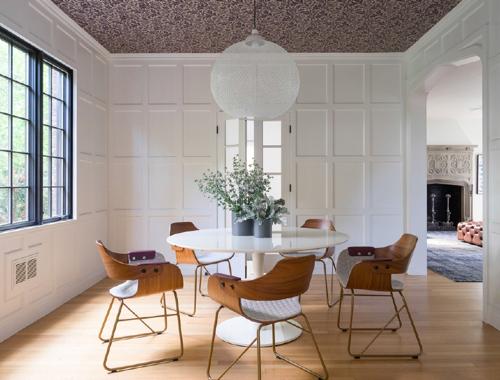 Modern Tudor Renovation By Hacin Associates