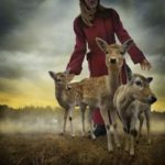 ARTmonday: Tom Chambers Landscapes with Animals and Girls
