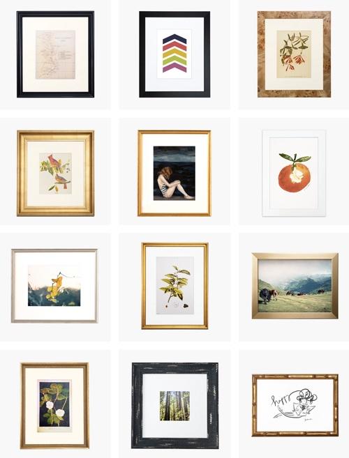 Custom Mail Order Picture Framing By Framebridge