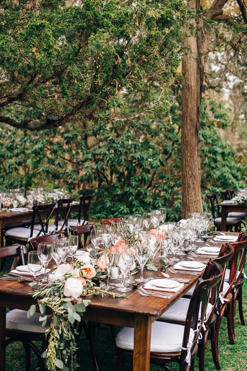 garden-wedding-rustic-tables-fat-orange-cat-studio