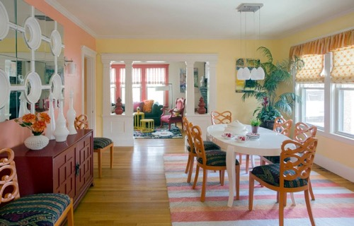 Colorful Cambridge Home Makeover By Heidi Pribell