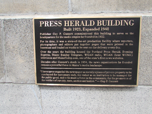 press-hotel-building-plaque