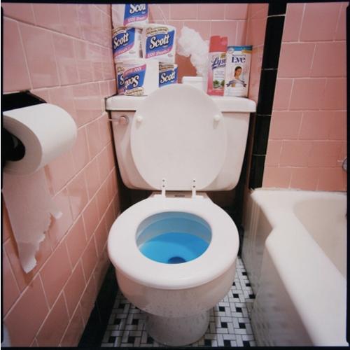Stefanie Klavens Interior Photograph Pink Tiled Bathroom