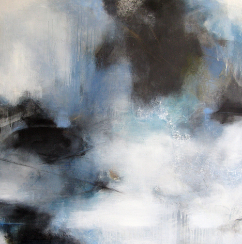 Jen Bradley Abstract Painting At Webster & Co