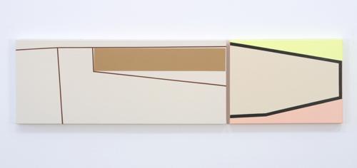Abstract Geometric Painting By Boston Artist Jason Fiering