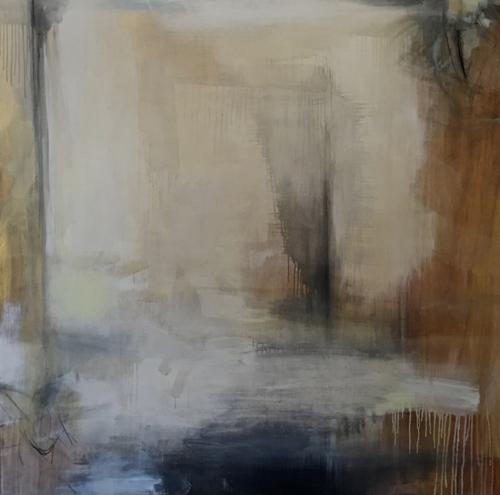 Cape Cod Artist Jen Bradley Abstract Painting Paradise Series