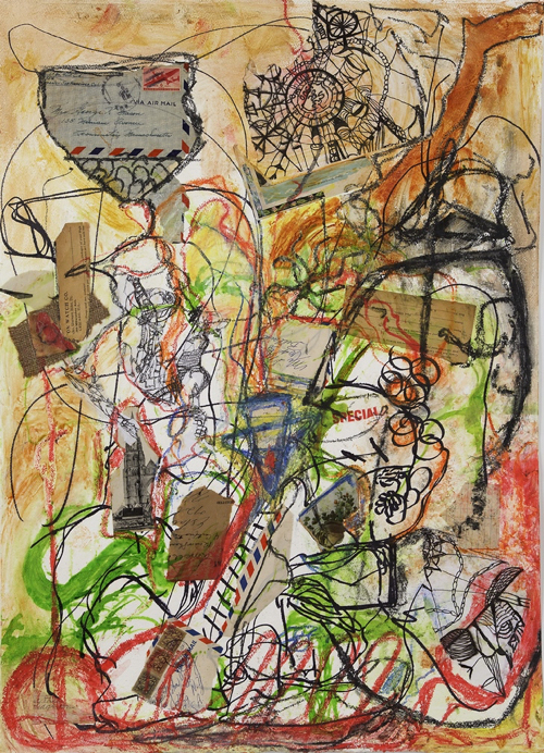 Cape Cod Artist Julia Salinger's Quirky Abstracts