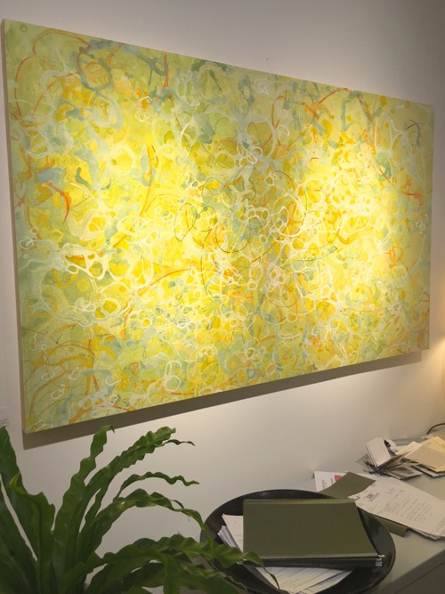 Meg Brown Payson Abstract Painting At Webster & Co. BDC