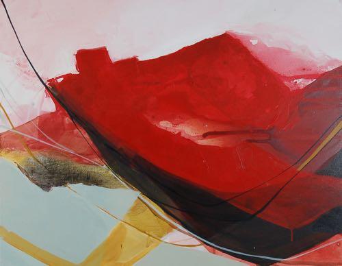 Boston Artist Morgan Dyer Abstract Landscapes