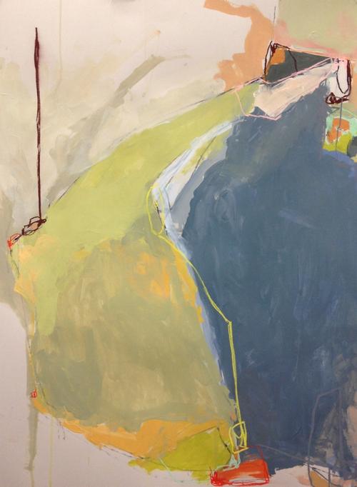 Abstract Painting By Boston Artist Amanda Hawkins