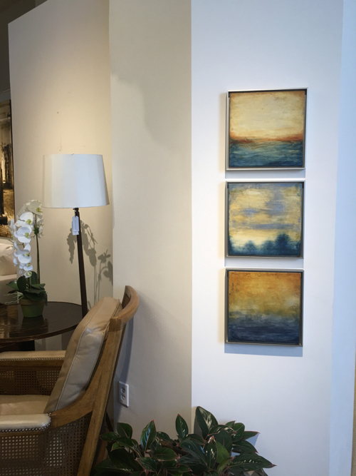 Encaustic Abstracts By Boston Artist Linda Cordner