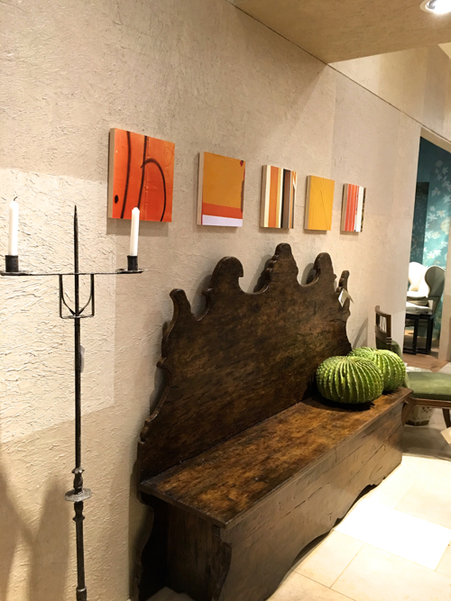 Grace Hopkins Abstract Photos In Orange At Webster & Co.