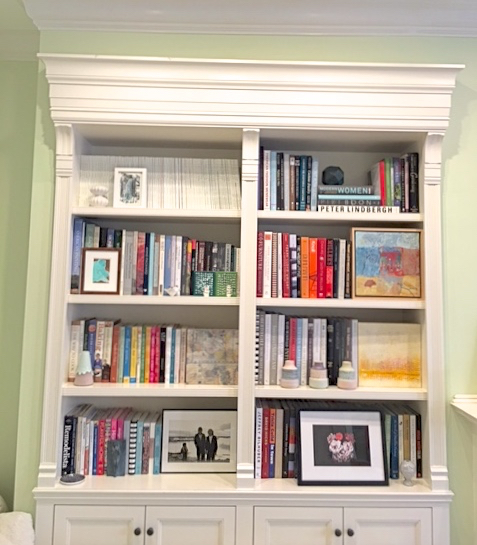 Styling Your Bookshelf With Design Books And Art